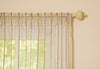 ML16610 Tafetta Stripe Sheer Curtain