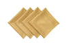 "ML16617 Gala Glistening Napkins, 20""x20"", Set of 4"