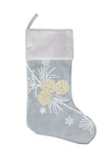 ML17117 Winter Pine Cone Stocking,20""