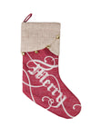 ML17126 Merry Christmas Stocking, 20""