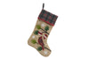 ML18926 Cardinal Noel Peace Jute Stocking 20''