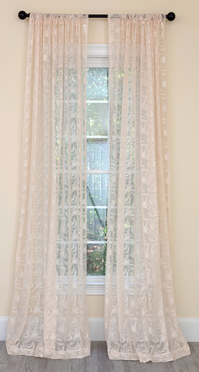 ML19075 Charming Night Sheer Curtain