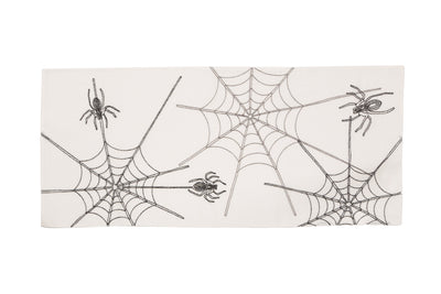 XD18801 Halloween Spider Web Table Runner