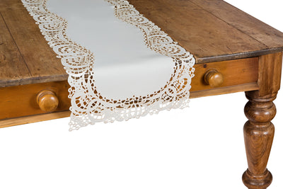XD10181 Dainty Lace Table Runner