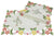 "XD101812 Fancy Flowers Placemat, 12""x18"", Set of 4"