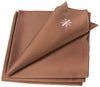 "XD10183  Daisy Splendor Napkins, 21""x21"", Set of 4"