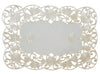 "XD110733 Daisy Lace Placemats, 12""x18""Set of 4"