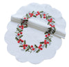XD108059 Holly Berry Doilies, Set of 4