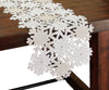 XD10816 Shimmer Snowflake Table Runner