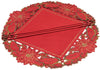 XD10982 Holiday Spirit Doilies, 12''Round, Set of 4