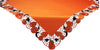 "XD11035 Happy Jack-O-Lanterns Table Topper, 34""x34"""