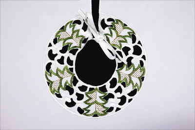 "XD110708 Tannenbaum Tree Skirt, 48""Round"