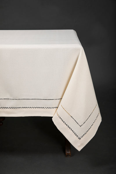 XD11099 Double Hemstitch Tablecloth
