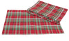 XD111618 Holiday Tartan Placemats, 13''x19'', Set of 4