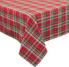 XD111618 Holiday Tartan Tablecloth