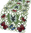 XD11181 Butterflies Table Runner