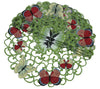 XD11181 Butterflies Round Doilies, Set of 4