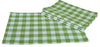 "XD12008 Gingham Check Placemats, 13""x19"", Set of 4"