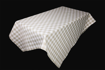 XD12008 Gingham Check Tablecloth