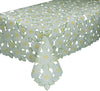 "XD12057 Dainty Flowers Tablecloth,70""X70"""