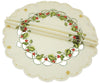 XD13188 Winter Berry Doilies, Set of 4