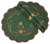 XD13194 Magical Christmas Doilies, 12'' Round, Set of 4