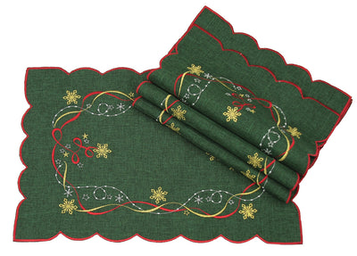 XD13194 Magical Christmas Placemats,12''x18'', Set of 4