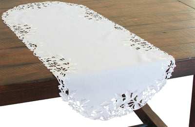XD14025 Arietta Embroidered Table Runner