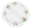 XD14038 Summer Rose Doilies, Set of 4