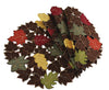 "XD14991 Forest BlanketRound Placemats, 16"", Set of 4"