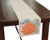 "XD15136 Applique Sea life Coastal Table Runner,13.5""x72"""