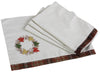 "XD15833 Maple Wreath Placemats, 13""x18"", Set of 4"
