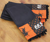 "XD15834 Halloween Patchwork Tea Towels, 16""x22"", Set of 4"