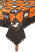 "XD15834 Halloween Patchwork Tablecloth, 50""x50"""