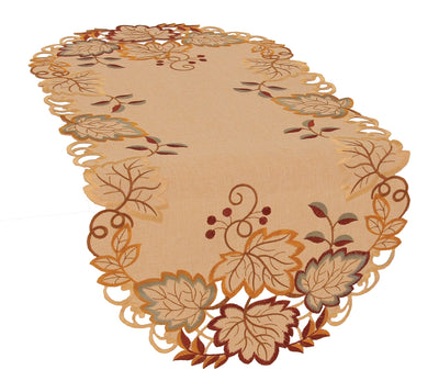 XD160901 Harvest Verdure Table Runner