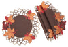 XD160908 Harvest Hues Doilies, Set of 4