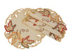 XD160912 Moisson Leaf Doilies,Set of 4