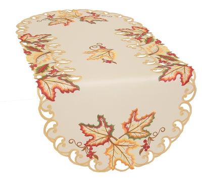 XD160912 Moisson Leaf Table Runner