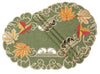 "XD160915 Delicate Leaves Placemats, 13""X19"", Set of 4"