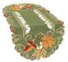 XD160915 Delicate Leaves Table Runner