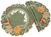 XD160915 Delicate Leaves Doilies, Set of 4