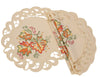 XD160919 Thankful Leaf Doilies, Set of 4