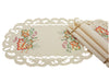 "XD160919 Thankful Leaf Placemats, 13""x19"", Set of 4"