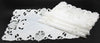 "XD170185 Delicate Lace Placemats,13""x19"", Set of 4"