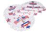 "XD17105 Star Spangled Placemats,13""x19"", Set of 4"