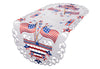 "XD17105 Star Spangled Table Runner, 15""x34"""