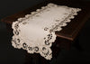 XD17106 Scalloped Lace Table Runner