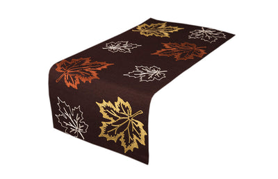 XD17143 Rustic Autumn Table Runner