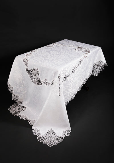 XD17190 Antebella Lace Tablecloth