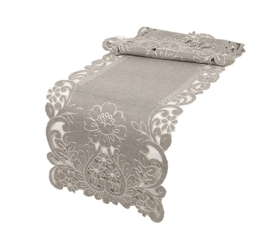 XD18349 Claire Floral Table Runner